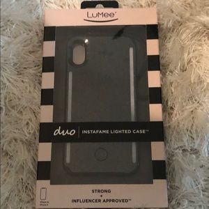 Never used Lumee case iPhone X